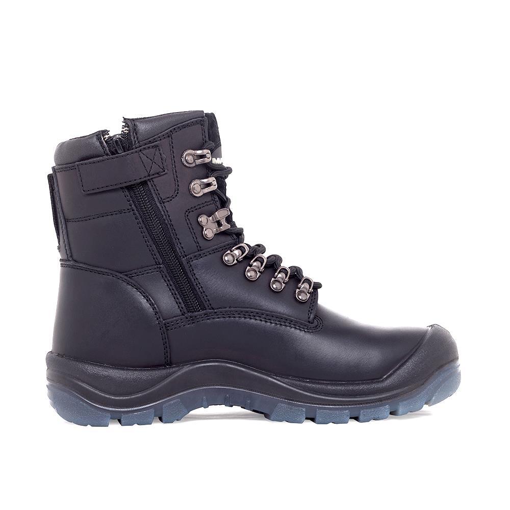Steel Toe Zip Shoes