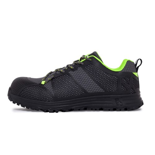 Mack Pitch Lace-Up Safety Shoes