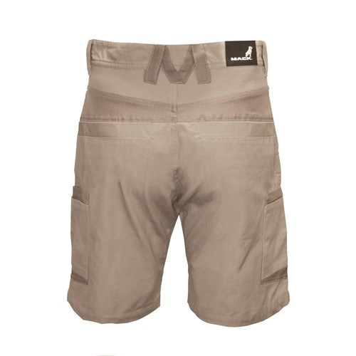 Mack Workwear Anthem Mens Canvas Cargo Shorts