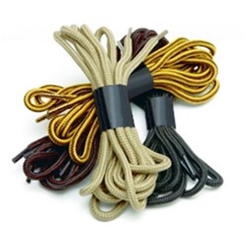 Mack Round Shoe Laces in Taupe